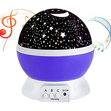 Amazon.com: Music Night Light Projector lamp Baby Star Projector