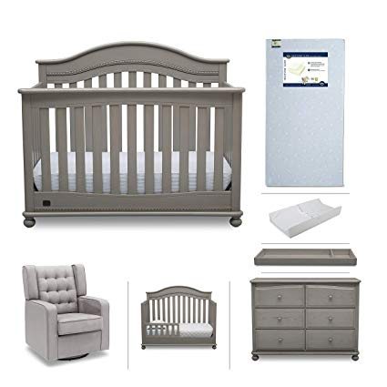 Amazon.com: Baby Nursery Furniture Set - 7 Pieces Including