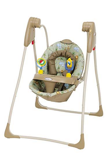 Amazon.com : Graco Compact Infant Swing, Tango in the Tongo