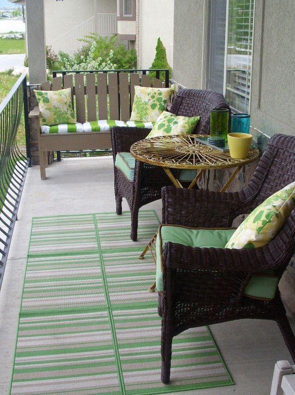 apartment balcony furniture u2026 | Ideas for the House in 2019u2026