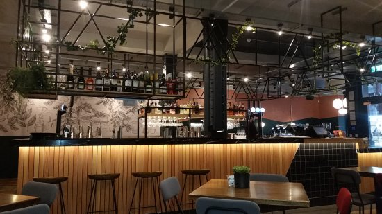 Bar/counter area - Picture of BEAR - Derby, Derby - TripAdvisor