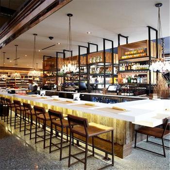 Commercial Long Bar Counters For Restaurant/cafe Shop - Buy Bar