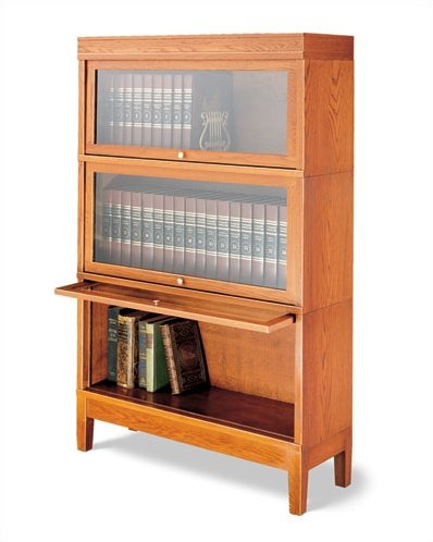 Hale Bookcases 800 Sectional Series Deep Barrister Bookcase   Wayfair