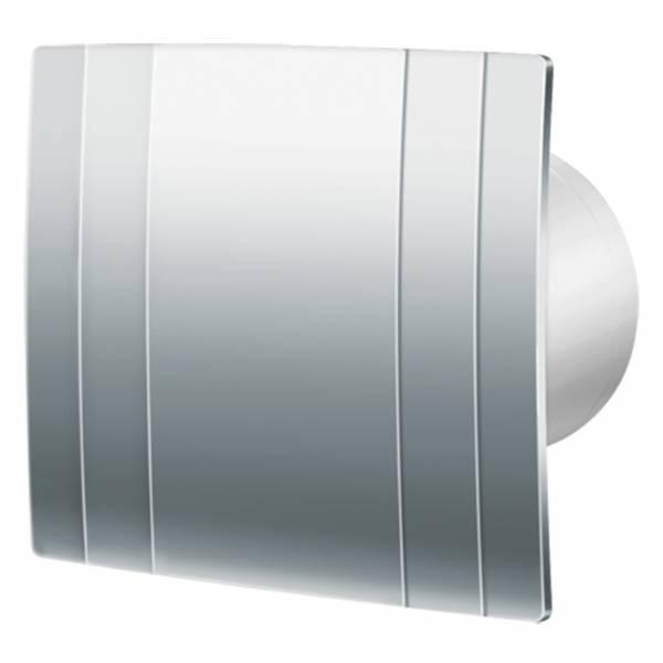 Extractor Fans - Blauberg Quatro Chrome 100 88 m3/h