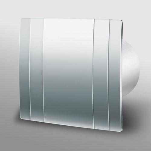 Designer Metal Bathroom Extractor Fan 100mm 4