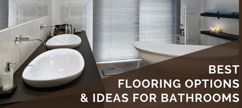 6 Best Bathroom Flooring Options in 2019   Ideas, Tips, Pros & Cons