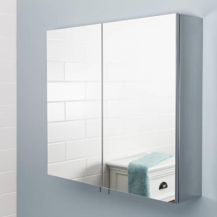 Mirror Bathroom Cabinets - Plumbworld