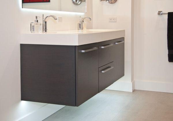 27 Floating Sink Cabinets and Bathroom Vanity Ideas | Multi