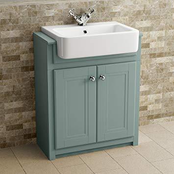 Traditional Bathroom Vanity Unit Furniture Floor Standing Storage