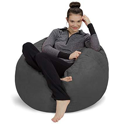 Amazon.com: Sofa Sack - Plush, Ultra Soft Bean Bag Chair - Memory