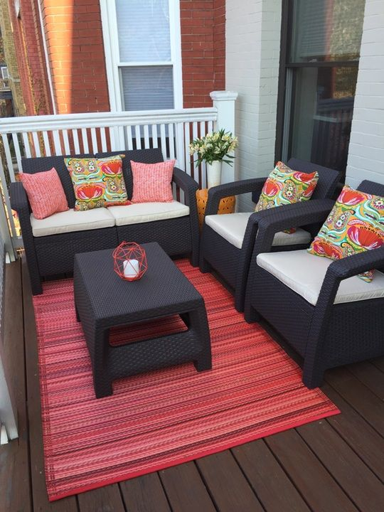 Patio: awesome patio furniture for small spaces Cafe Tables And