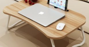 Laptop bed table with simple dormitory lazy desk on bed desk