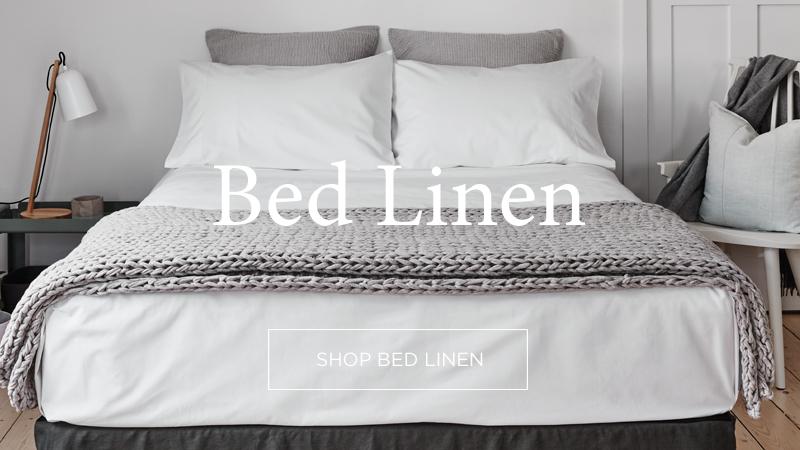 Luxury Linen Bedding & Manchester - Abode Living