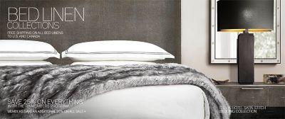 Bedding Collections   RH Modern