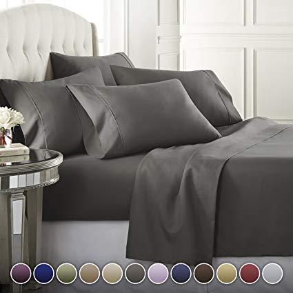 Amazon.com: Danjor Linens 4 Piece Hotel Luxury Soft 1800 Series