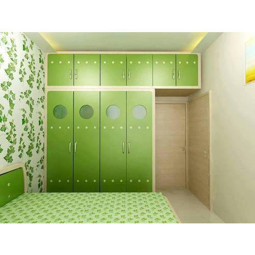 Fancy Wooden Bedroom Wardrobe at Rs 1290 /square feet   Wooden