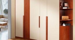 Wholesale New Double Color Wardrobe Design Furniture Bedroom