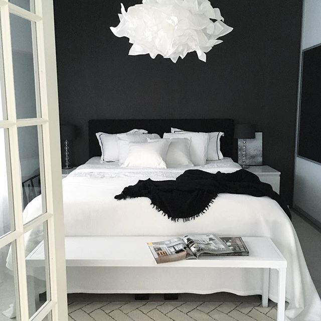 Black and white bedrooms u2026 | My Room | Whiteu2026