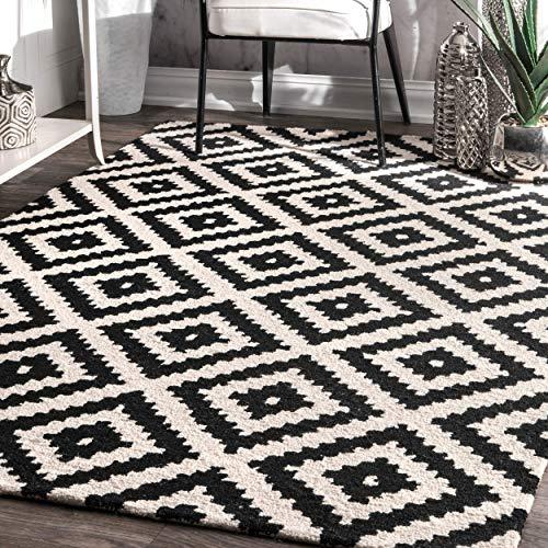 Black and White Rugs: Amazon.com