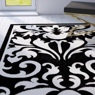 Black And White Checked Rug | Wayfair