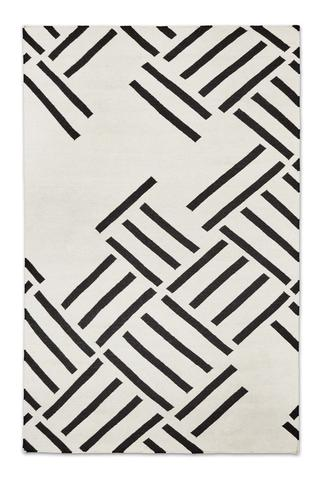 Add Sophistication and Interest with Black and White Rugs u2013 BURKE DECOR