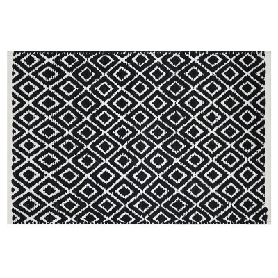 Diamond Bath Rug Black/White - Project 62™ : Target