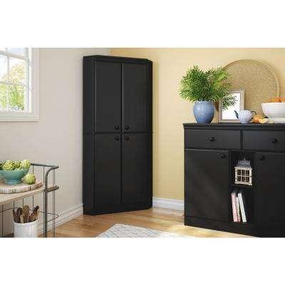 Black - Armoires & Wardrobes - Bedroom Furniture - The Home Depot