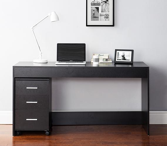 Yak About It Simple Style Work Desk - Black