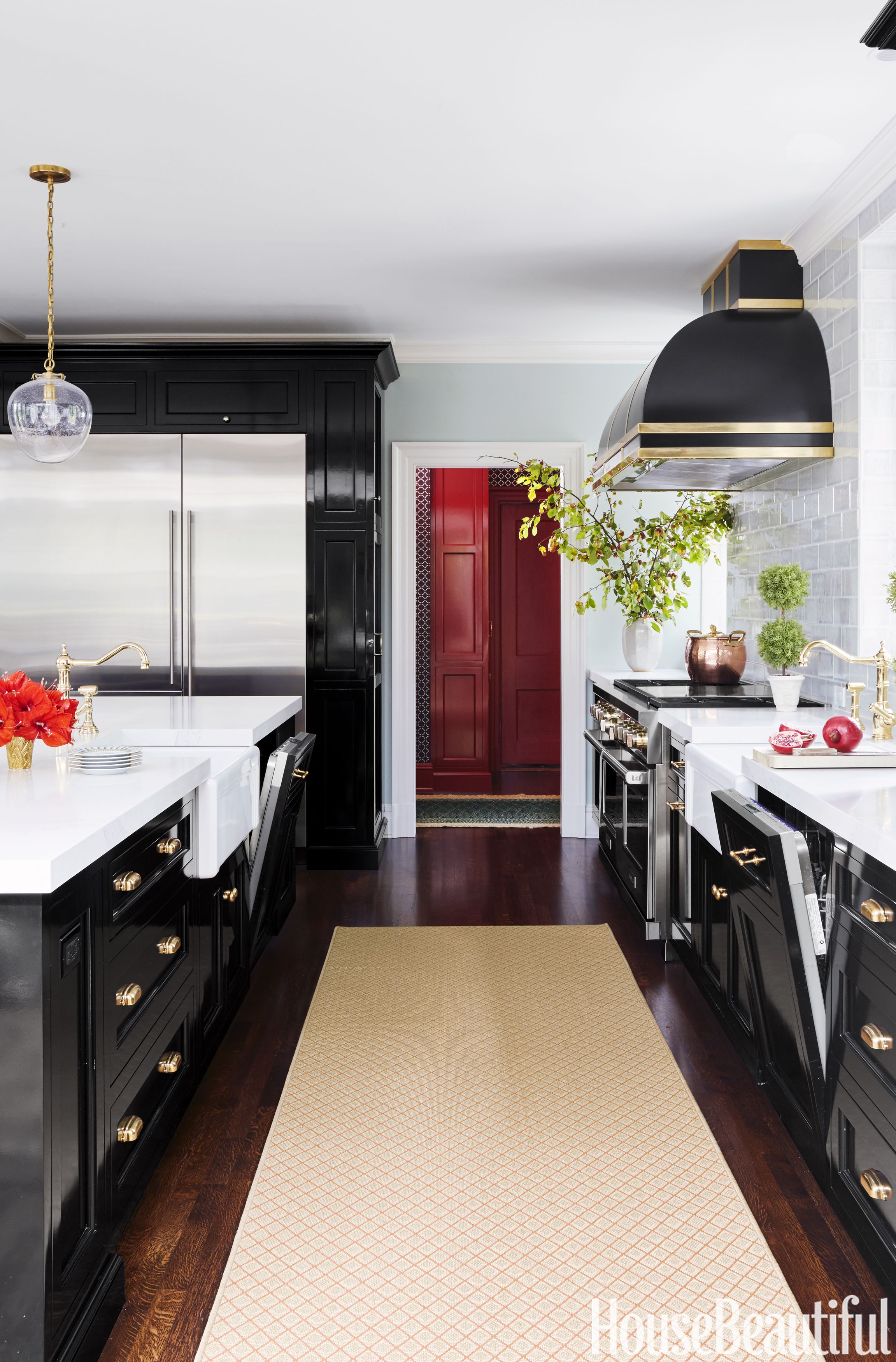 10 Black Kitchen Cabinet Ideas - Black Cabinetry and Cupboards