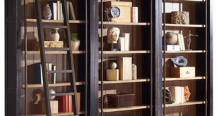 Martin Furniture Toulouse 3 Bookcase Wall - Transitional - Bookcases