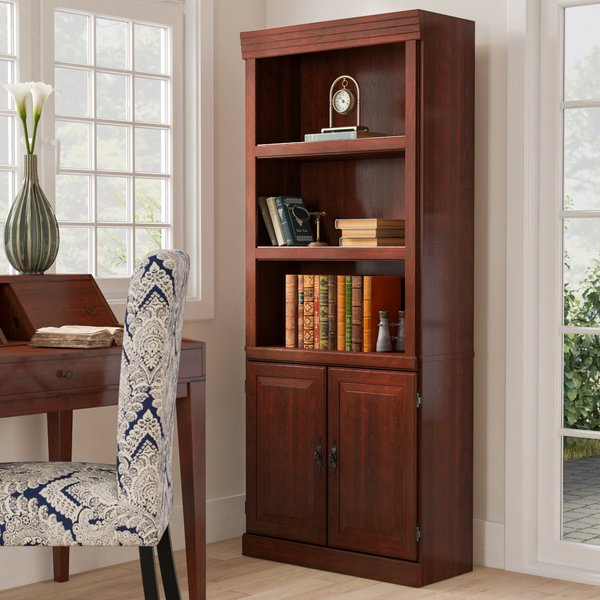 Darby Home Co Clintonville Standard Bookcase & Reviews | Wayfair