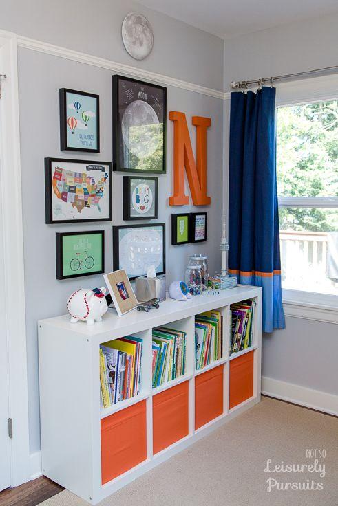 Bedroom for a Kindergartner   Boys room!   Boys room decor, Kids