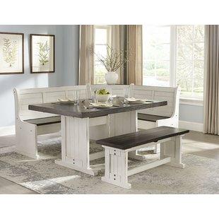 Round Breakfast Nook Table | Wayfair