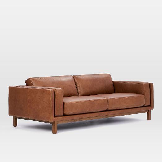 Dekalb Leather Sofa (85