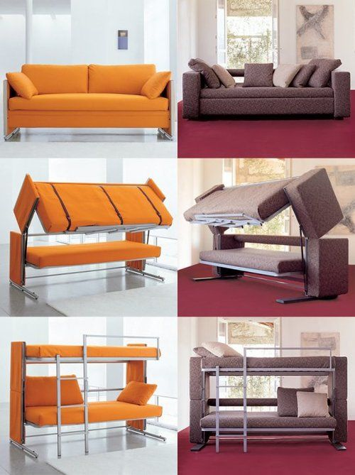 10 Out-of-the-Ordinary Convertible Beds | around the house | Couch