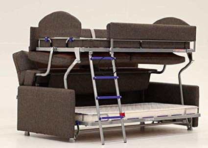 Have Bunk Bed Couch And Save   Space!