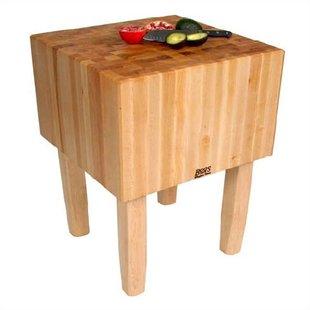 Kitchen Butcher Block Table | Wayfair
