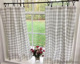 Cafe curtain | Etsy