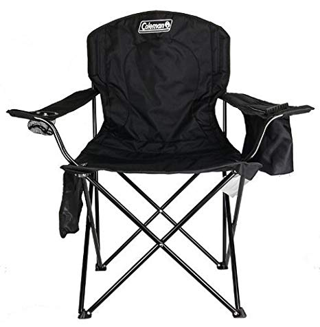 Amazon.com : Coleman Cooler Quad Portable Camping Chair : Camping