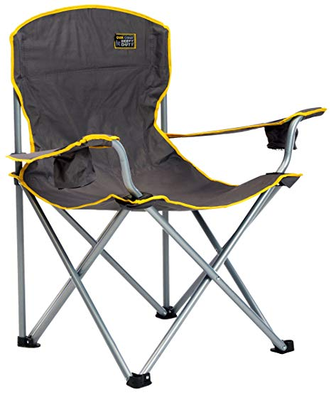 Amazon.com : Quik Chair Heavy Duty Folding Camp Chair, Extra Large