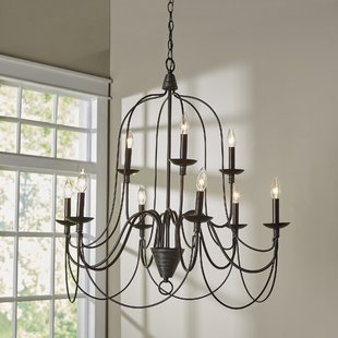 Candle-Style & Crystal Chandeliers You'll Love | Wayfair