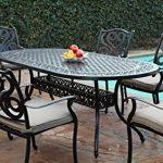 Best ways to enjoy the cast   aluminum patio furniture