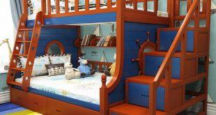 Children Beds Children Furniture solid wood All sides guardrail
