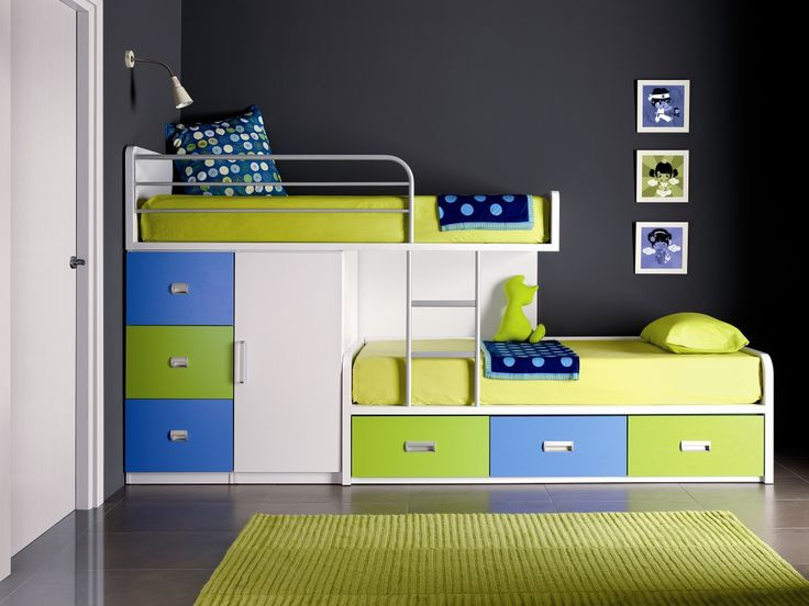 30 Space Saving Beds For Small Rooms   car house   Bunk beds boys
