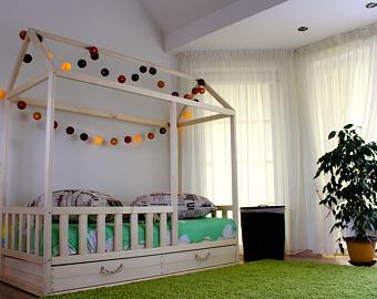 Kids bed   Etsy