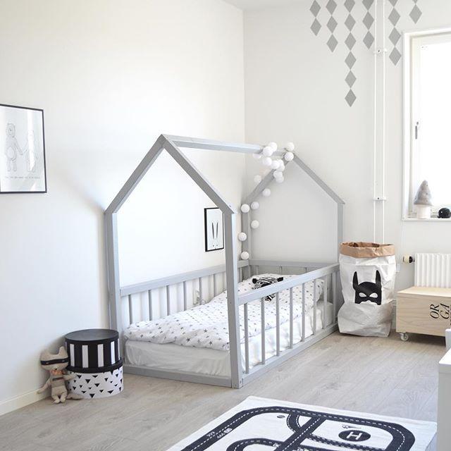 Big kid room. Love the house frame bed!   Dream kids room   Toddler