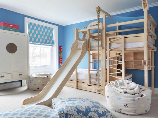 Decorating children's room with kids beds u2013 yonohomedesign.com