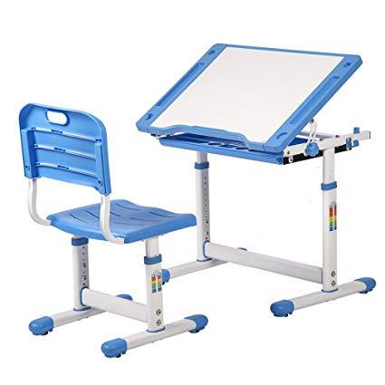 Amazon.com: PayLessHere Adjustable Children's Desk Chair Set Child