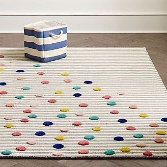 Playroom Rugs   Crate and Barrel