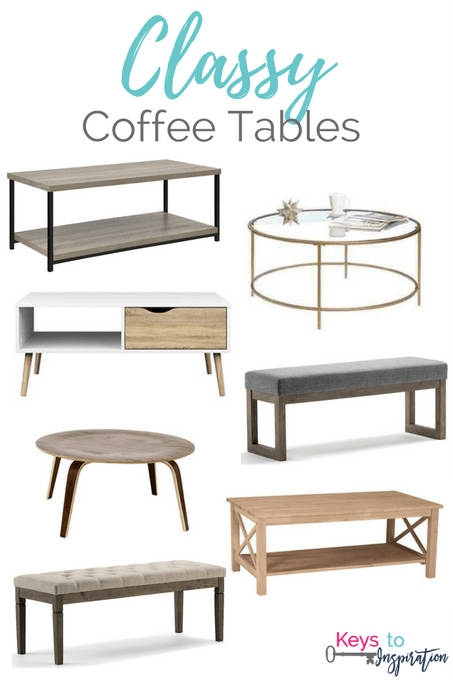 Your Classy Coffee Tables for   Sharing Hot Coffee in Snowing Weather
